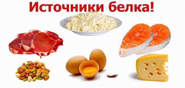 Белковая еда: список, польза и вред