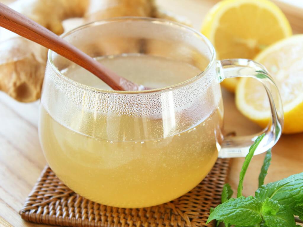 Лечебный напиток с медом