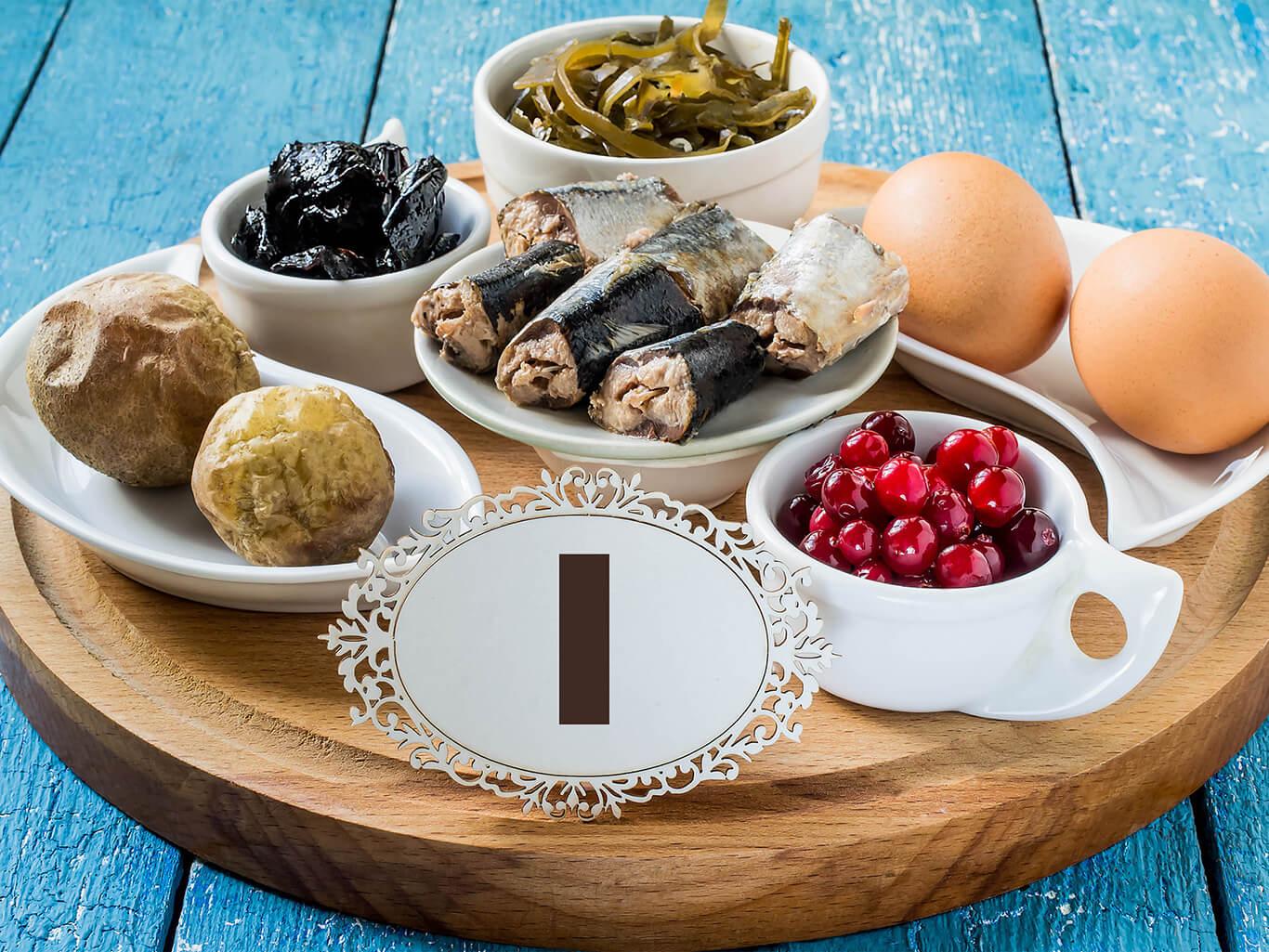 Боремся с йододефицитом: в каких продуктах много йода