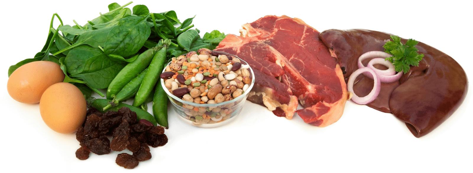Полезные продукты, повышающие свертываемость крови