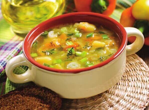 Как приготовить легкий овощной суп, рецепты