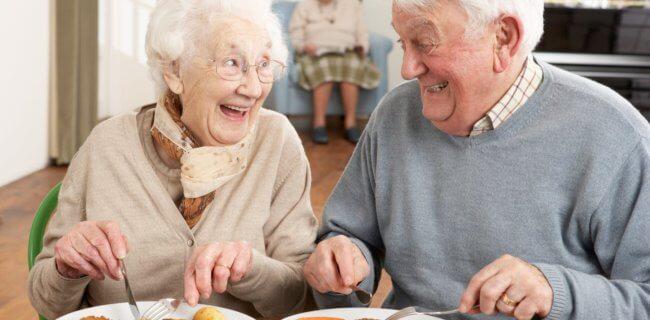 Хлеб для пожилых людей