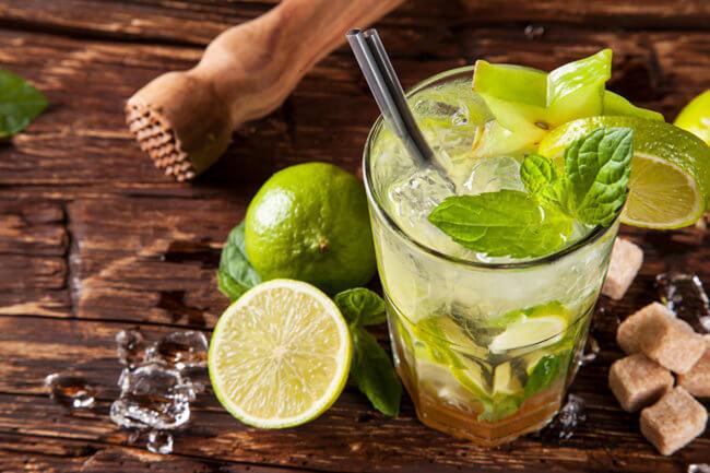 Мохито, безалкогольный рецепт
