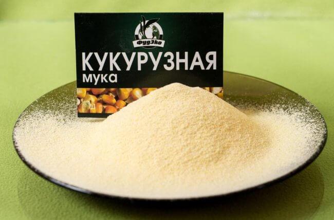 Мука из кукурузы